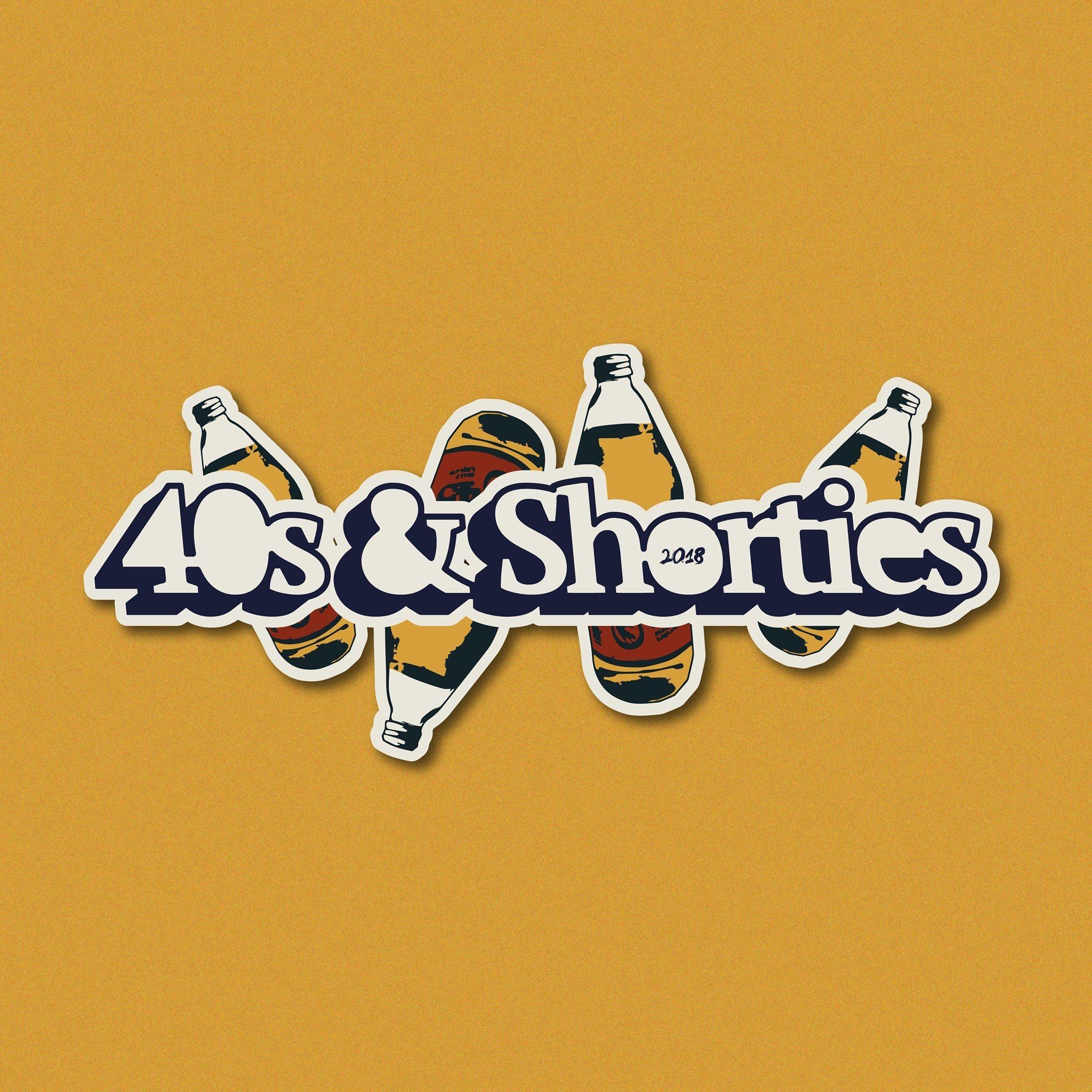 """Logo """"40's & Shorties 2018"""""""