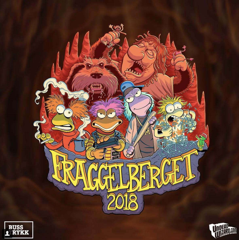 "Logo ""Fraggelberget 2018"""