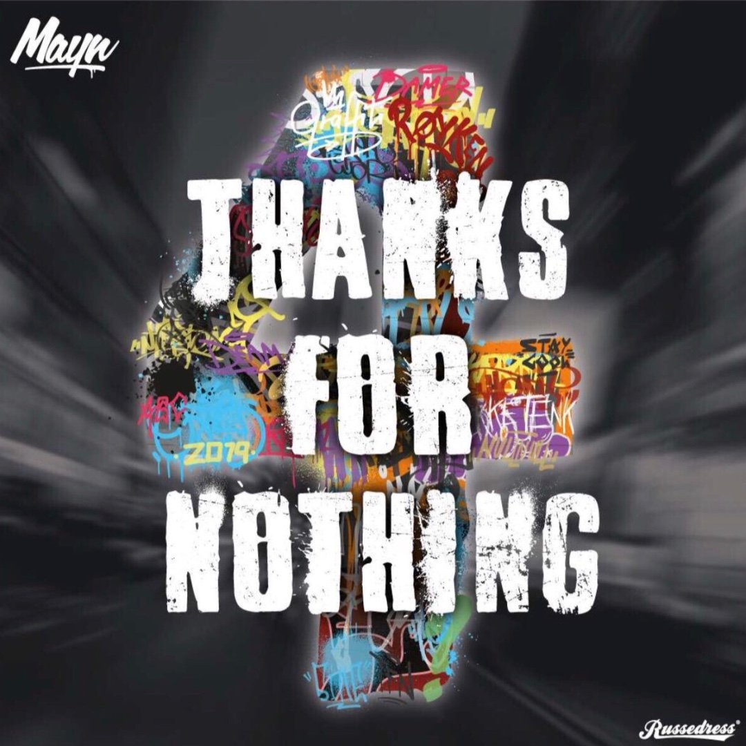 Thanks for nothing 2019 logo