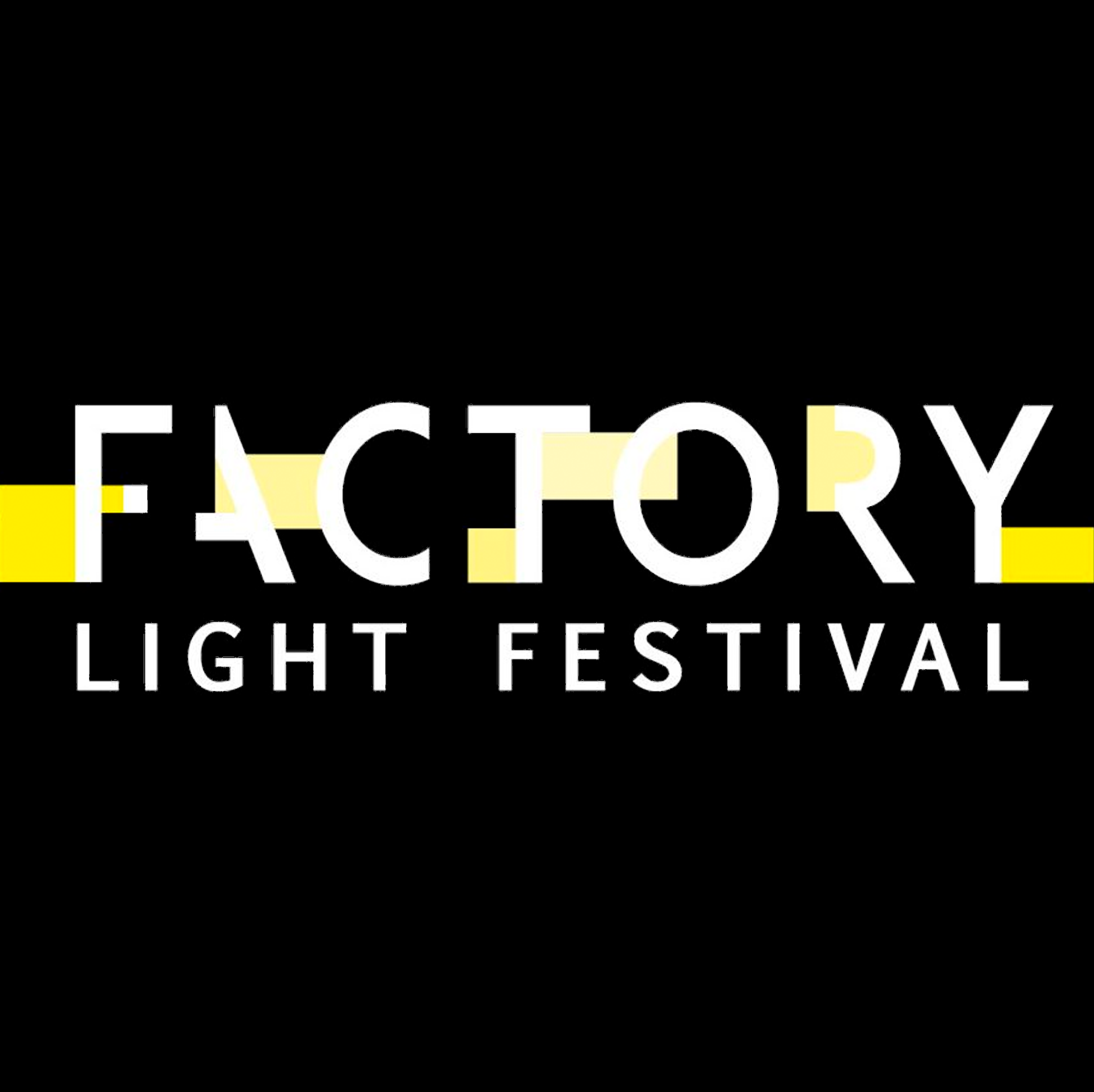 factory light festival logo