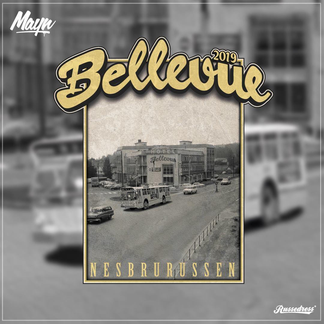 Bellevue 2019 - Nesbrurussen logo